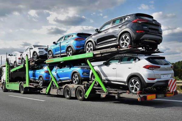 Car Transportation By Car Carrier
